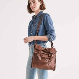 Lucky Brand  | Large Foldover Tote Bag